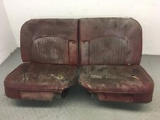 Jaguar STYPE FRONT RECLINING SEAT FRAME RUNNER LEATHER COVER MK2 SEATS CHAIR