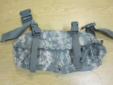 USED CLEAN GENUINE ARMY MOLLE II ACU CAMO WAIST PACK FANNY POUCH