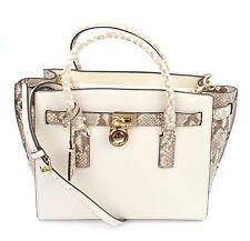 Michael Kors Hamilton Traveller Dark Sand Leather Tote Handbag Large RRP £360