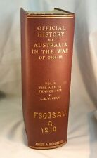OFFICIAL HISTORY OF AUSTRALIA IN World War I Volume V 1937 Military