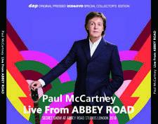 Paul McCartney 2018 Abbey Road Studios London 2×CD 1×DVD(FACTORY PRESS DISC) F/S