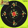 """PREMIUM Shooting Targets 12"""" Burst Bright Reactive Paper Target Gun Rifle Pistol"""