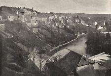 JURA. Champagnole. générale 1895 old antique vintage print picture