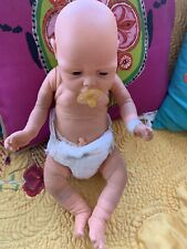 Vintage Jasmar Newborn Baby Boy Doll