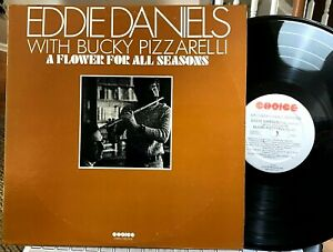 Bucky Pizzarelli & EDDIE DANIELS - A Flower For All Seasons - Choice, 1973, NM