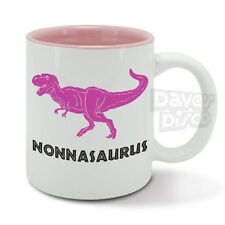 NONNASAURUS T-Rex dinosaur, nonna, grandmother funny mug cup mothers day gift