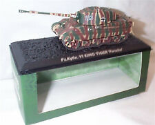 Ultimate Tank Collection Pz.Kpfw. V1 King Tiger Porsche 1-72 scale new in Case