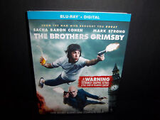 The Brothers Grimsby (Blu-ray) Sacha Baron Cohen, Mark Strong - Brand New!!