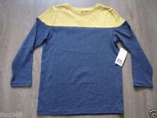 Magliette , maglie e camicie manica lunghi per bambini dai 2 ai 16 anni girocollo misto cotone