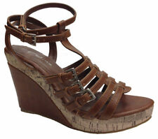 Women's Composition Leather Slingbacks Evening Sandals & Beach Shoes