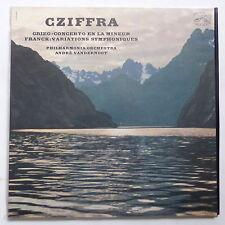 CZIFFRA Grieg Franck Philharmonia orchestra ANDRE VANDERNOOT VDSM FALP 703