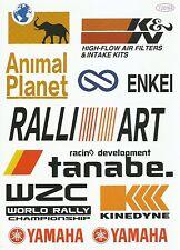 "Sticker Decal Sticker Set ( Spoc) "" Motorsport Mix "" - Modelling, Stickerbomb"