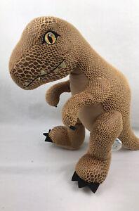 "Official Build-A-Bear Jurassic World T-Rex Dinosaur Plush Stuffed Animal 19"" BAB"