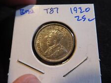 INV #T87 British East Africa 1930 25 Cents