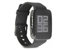 """Smart Watch 1.26 """" Inch LCD/Bluetooth 4.0/Android 4.4 Chronos ECO / Black"""
