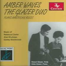 AMBER WAVES: THE GLAZER DUO PLAYS AMERICAN MUSIC NEW CD