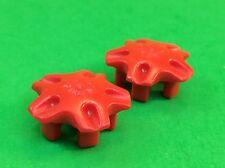 Playmobil Boot Bootsanhänger  Ersatzteil Rad 2x Radkappe aus 4823   #1-371
