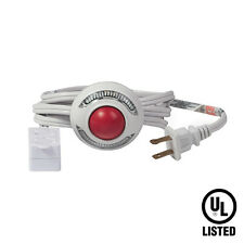 9 Ft 3 Outlet Lighted Foot Switch Extension Cord Power Strip Lamp Christmas UL