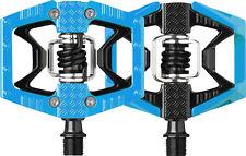Crank Brothers Double Shot MTB Mountain Bike Platform Pedals Blue/Black