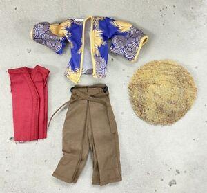 PB-Gomez: 1/12 Samurai outfit for Mezco One:12 Gomez Marvel Legends (No figure)