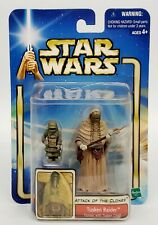 STAR WARS ATTACK OF THE CLONES TUSKEN RAIDER FEMALE WITH TUSKEN CHILD 2002