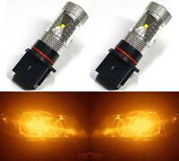 LED 30W 12277 PS13W P13W H18 Orange Amber Two Bulbs DRL Daytime Drive Light