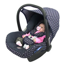 BAMBINIWELT Ersatzbezug Babyschale Maxi-Cosi CabrioFix STERNE MARINE