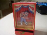 Midwest of Cannon Falls Dancing Cowboy Santa Claus Jewelry Music Box