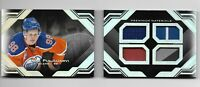 2016-17 UD Black Hockey Fresh Gear Rookie Booklet Jesse Puljujarvi 07/25