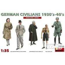 Miniart 38015 allemand civils 1930's-1940's 1 35 Modélisme