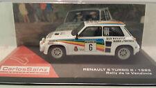 RAL112 RENAULT 5 TURBO 2 RALLY DE LA VENDIMIA 1983CARLOS SAINZ