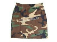 Minirock US Army Rock Women Skirt T/C 3-color Woodland Camo 36