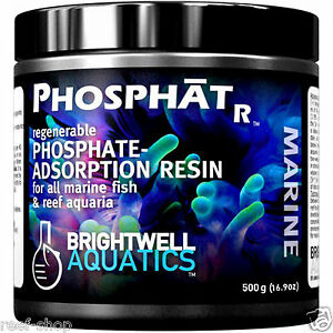 Brightwell Aquatics PhosphatR 500 grams Regenerable Phosphate Adsorption Resin