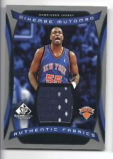promo code ffcae 6d452 Dikembe Mutombo New York Knicks Basketball Trading Cards for ...