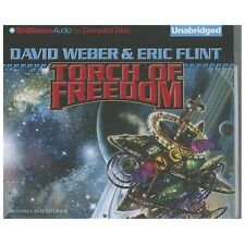 David Weber & David Flint TORCH OF FREEDOM Unabridged CD *NEW* FAST Ship!