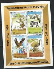 Zambia SC199a InternationalYearOfTheChild-The Future of Zambia MNH 1979