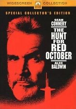 The Hunt For Red October (DVD) Widescreen- Sean Connery- Region 4- New/Sealed