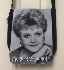 Murder She Wrote Bag / Purse Jessica Fletcher Angela Lansbury 80s