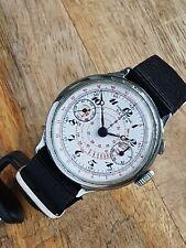 Chronomètre Diana Chronograph Mono-pusher Landeron Hahn Read Description