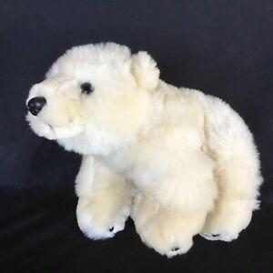 SEAWORLD AUSTRALIA POLAR BEAR PLUSH TOY! SOFT TOY 23cm LONG KIDS TOY!