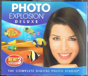 Photo Explosion Deluxe 3.0 (PC, 2006, Nova Development)
