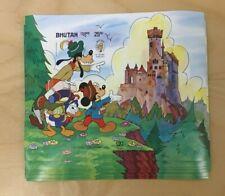 SPECIAL LOT Bhutan 1985 521 - Disney Mickey - 10 Souvenir Sheets - IMPERF