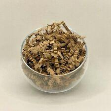 SHREDDED CRINKLE CUT ZIG ZAG Paper Brown Natural Kraft Gift Hamper Shred Filler