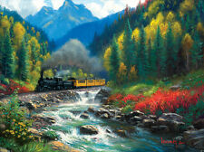 DURANGO SILVERTON COLORADO  RAILROAD JIGSAW PUZZLE 1000 pc. / Trains / Art