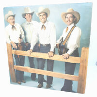 FLYING X RANCH HANDS WITH HUGH FARR CAMPFIRE MELODIES ~ AUTOGRAPHED LP