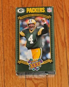 Green Bay Packers Super Bowl XXXI 31 Champions Official NFL Video Yearbook - VHS