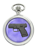 Walther PPS Pistol Pocket Watch