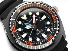 NEW MENS SEIKO PROSPEX KINETIC 200M DIVERS ANALOG SAPPHIRE SPORTS WATCH SUN023P1