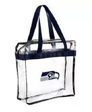 NFL Seattle Seahawks  Clear Zipper Massenger Bag Stadium Approved