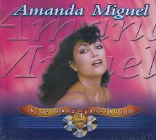 CD - Amanda Miguel NEW Versiones Originales 3 CD - FAST SHIPPING !